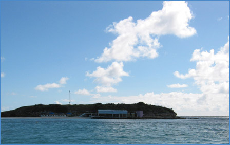 Prickly Pear Island, an Oasis in the Ocean